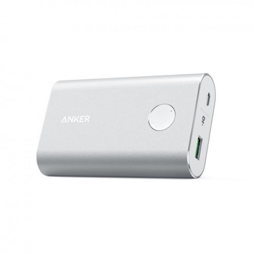 Picture of Anker PowerCore+ 10,050 mAh Quick Charge 3.0 Power Bank - Silver