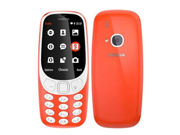 Picture of NOKIA 3310 3G DS Warm Red