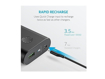 Picture of Anker PowerCore+ 10,050 mAh Quick Charge 3.0 Power Bank - Black