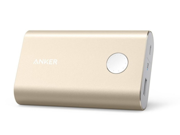 Picture of Anker PowerCore+ 10,050 mAh Quick Charge 3.0 Power Bank - Gold