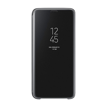 Picture of Samsung S9 Clear View Standing Cover Black