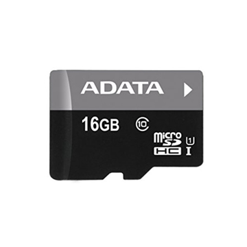 Picture of ADATA Premier 16GB microSDHC/SDXC UHS-I U1 Memory Card with Adapter