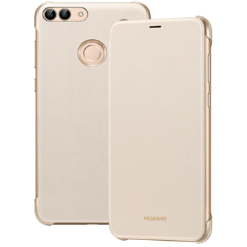 Picture of Huawei,  Flip Cover For P Smart - Gold