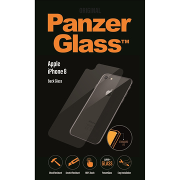 Picture of PanzerGlass Back Glass Protector For iPhone 8 - Clear