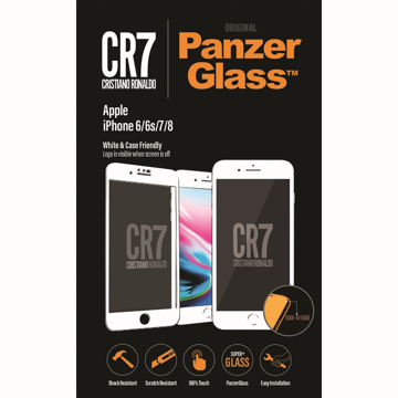 Picture of PanzerGlass CR7 Screen Protector for Apple iPhone 6/6s/7/8 - White