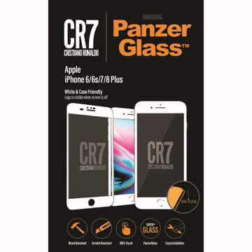 Picture of PanzerGlass CR7 Screen Protector for Apple iPhone 6 / 6s / 7/ 8 Plus - White
