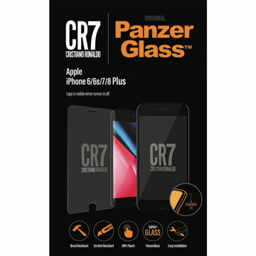 Picture of PanzerGlass CR7 Screen Protector for Apple iPhone 6/ 6s/ 7/ 8 Plus - Clear