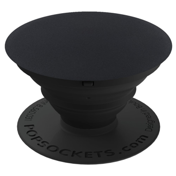 Picture of PopSockets Collapsible ALUMINUM Grip & Stand for Phones and Tablets - Black Aluminum