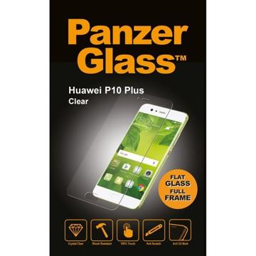 الصورة: بانزر جلاس ، حماية شاشة زجاجية لأجهزة هواوي P10 Plus - شفاف