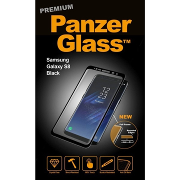 Picture of PanzerGlass Premium Screen Protector For Samsung S8 - Black