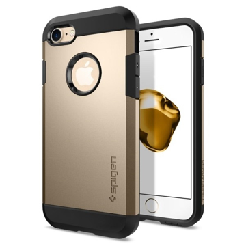 Picture of Spigen Case Tough Armor for Apple iPhone 7 / 8 - Champagne Gold