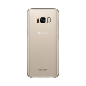 Picture of Samsung Clear Back Cover for Samaung S8 - Gold