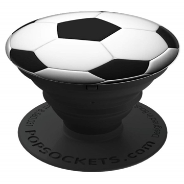 Picture of PopSockets Collapsible Grip & Stand for Phones and Tablets - Soccer Ball