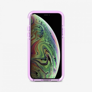 Picture of Tech21 Evo Check Case for iPhone XS - Orchid