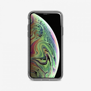 Picture of Tech21 Pure Carbon Case for iPhone XS - Smoke