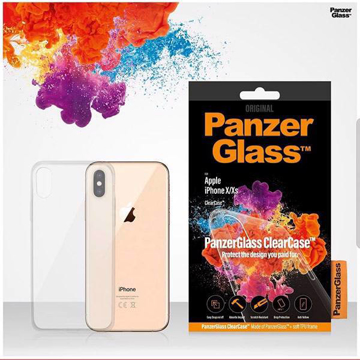 Picture of PanzerGlass Clear Glass Back Case For iPhone XS - Clear