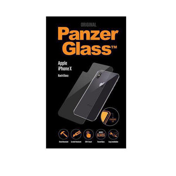 Picture of PanzerGlass Back Glass Protector For Apple iPhone X - Clear