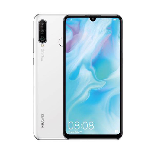 Picture of Huawei P30 Lite Dual 4G 128GB - Pearl White