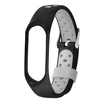 Picture of Replacement Band , For Xiaomi Mi Band 3 Black - Grey