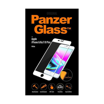 Picture of PanzerGlass Screen Protector , Case Friendly For Apple iPhone 6 / 6s / 7/ 8 Plus - White