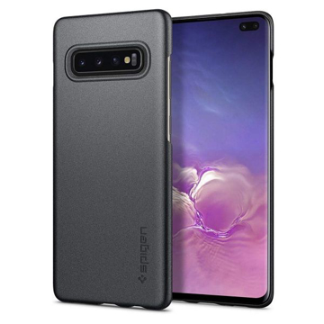 Picture of Spigen , Thin Fit Case For Samsung S10+ - Black