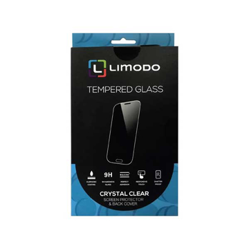 Picture of Limodo Tempered Glass + Back Cover For Huawei Y6 2019