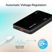 Picture of Promate Power Bank 18W PD 10000mAh With QC3.0 -Black