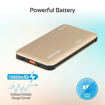 Picture of Promate Power Bank 18W PD 10000mAh With QC3.0 -Gold