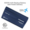Picture of Promate Power Bank 18W PD 10000mAh With QC 3.0 - Blue
