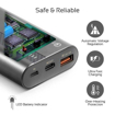 Picture of Promate Power Bank 18W PD 10000mAh With QC 3.0 - Grey
