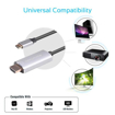 Picture of Promate High Definition USB-C to HDMI Audio Video Cable with UltraHD Support  - Grey