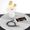 Picture of Promate Wearable Bracelet Style Wired Stereo Earphone Earphones - Black