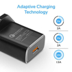 Picture of Promate Wall Charger Ultra-Fast With QC 3.0 And Type-C Cable - Black