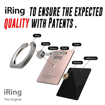 Picture of IRing Back Ring Grip With Car Hook Premium - Rose Gold