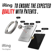 Picture of IRing Back Ring Grip With Car Hook Premium - Silver