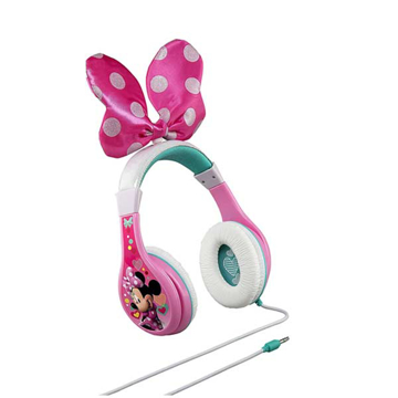 Picture of iHome Kiddesigns Minnie Mouse Youth Headphones With Bow - Multi Color
