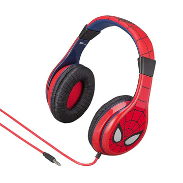 Picture of iHome Kiddesigns Over-Ear Headphone Spider Man - Multi Color