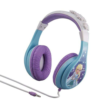 Picture of iHome Kiddesigns Over-Ear Headphone Volume Limited With 3 Settings Frozen - Multi Color