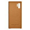 Picture of Samsung Leather Cover For Note 10+ - Camel