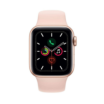 Picture of Apple Watch Series 5 GPS, Gold Aluminium Case With Sport Band, 40 millimeter - Pink Sand