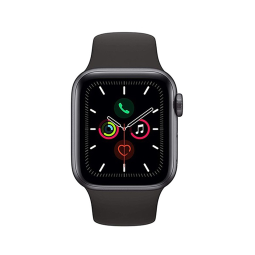 Picture of Apple Watch Series 5 GPS, Grey Aluminium Case With Sport Band, 44 millimeter - Space Grey