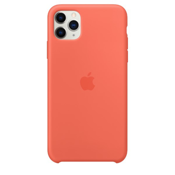 Picture of Apple iPhone 11 Pro Silicone Case - Clementine (Orange)