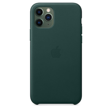 Picture of Apple iPhone 11 Pro Leather Case - Forest Green