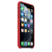 Picture of Apple iPhone 11 Pro Max Silicone Case - (PRODUCT)RED