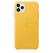 Picture of Apple iPhone 11 Pro Max Leather Case - Meyer Lemon