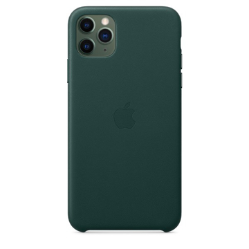Picture of Apple iPhone 11 Pro Max Leather Case - Forest Green