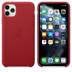 Picture of Apple iPhone 11 Pro Max Leather Case - (PRODUCT)RED