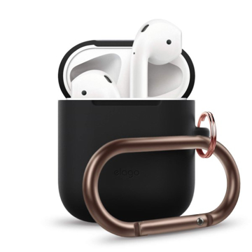 Picture of Elago Hang Silicon Case For Apple AirPods - Black