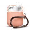 Picture of Elago Hang Silicon Case For Apple AirPods - Peach
