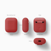 Picture of Elago Silicon Case For Apple AirPods - Red